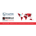 CryptTalk, a Swedish-Hungarian startup launched their secure telecommunication service, affordable for personal use, today at MWC