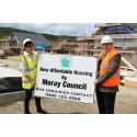 £2.5million low-cost housing development takes shape in Dufftown