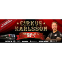Cirkus Karlsson kommer till XL-BYGG Fresks i Sundsvall 7/9