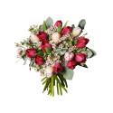Tulpaner slår rosor på Alla hjärtans dag