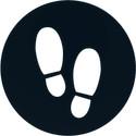 Digitsole applikation räknar dina steg