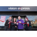 ​Wirral Stroke Survivor Officially Opens Heswall Vision Express Store