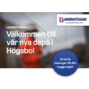 Invigning av ny depå för Lambertsson Sveriges uthyrningsverksamhet