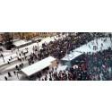 Föreningen Storasyster deltar vid manifestation mot kvinnoregistret i Stockholm