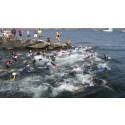 B2: Starten på simningen 2013: Åstol runt