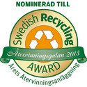 Gästrike återvinnare finalist i  Swedish Recycling Award