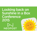 Looking back on the Sunshine in a Box Conference 2015