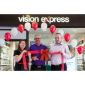 Kilwinning stroke survivor helps Vision Express unveil its newly upgraded Greenock store
