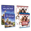 BEHAVING BADLY og ARE YOU HERE udgives på DVD, Blu-ray og VoD den 30. Oktober