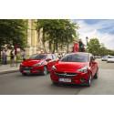 Opel Corsa med prisbelönt döda-vinkel-varnare