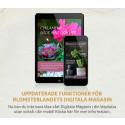 Blomsterlandets digitala magasin för läsplatta och telefon