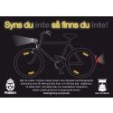 Kampanj med Polisen för fler synliga cyklister