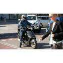 2 av 3 mopeder går för fort