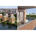HSB bygger hållbart designboende i Sundbyberg