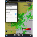 Garmin® presenterar BlueChart® Mobile 2.0 En marin app med överföring av väderinformation till sjökortsplotter