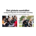 Det globala samhället - en dag om integration och social utveckling