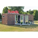 Scandic tuo Suomeen konttihotellihuoneen