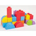 Legoliknande träklossar till de minsta