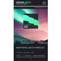 NorwayLights; new mobile app shows you to the best Northern Lights display