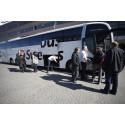 Trafikrapport från Swebus: 45 extrabussar och inga förseningar i påsktrafiken
