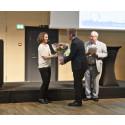 Miljøminister Kirsten Brosbøl indledte Krügers seminar om Fremtidens vand.