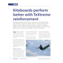 Case Study - Kiteboards perform better with TeXtreme® reinforcement