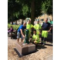 Grön dricksvattenfontän vid Drottningtorget invigd