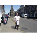 Forres High Street pavement works set to continue