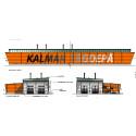Nu går tåget till den nya serviceverkstaden i Kalmar
