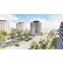 Gavlegårdarna planerar att bygga 96 nya lägenheter i Sätra centrum