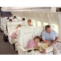 Varannan svensk vill ha barnfria zoner på flyget