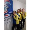 Sverige slog det ryska OS-laget i curling på Universiaden - studentidrottens motsvarighet till ett olympiskt spel