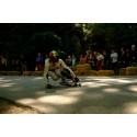 Boardlifes teamåkare högst upp på pallen i årets första Downhill Skateboard Competition