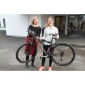 Lover å sykle til og fra jobb