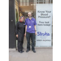 Richmond residents join free blood pressure event as part of Vision Express and Stroke Association healthcare initiative