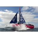 Många vill vara volontärer under Volvo Ocean Race-målgången