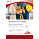Folder SoftOne för hantverkare