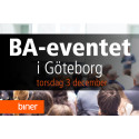 Biner presenterar: BA-eventet i Göteborg den 3 december 2015