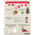 Swebus julenkät: Bara tre av tio har bokat julresan