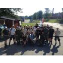 Veteranmarschen kommer till Karlsborg 4 augusti