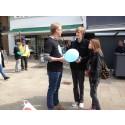 Husk at tale med misbrugerens barn - gadekampagne i Helsingør