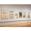 Impressions. Five Centuries of Woodcuts. From one of the halls of the exhibition.