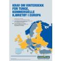 Goodyear advarer flåteoperatører: Regler for vinterdekk er ikke de samme for hele Europa