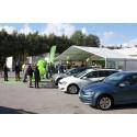 Energiministern hyllade fordonsgassatsning i Södertälje