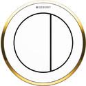 Nya Geberit Omega10 remote - vit/guld