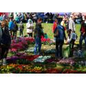 Estnisk trädgårdsmarknad lockar tusental