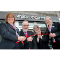 Representative of the Macular Society Is Guest of Honour at Millom Vision Express Opening