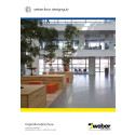 Weber designgulv - inspirationsbrochure