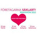 PETTER ALEXIS + Företagarna Stockholms läns Roadshow = SANT!