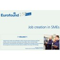 Eurofound puts spotlight on drivers of job creation in SMEs